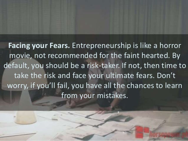 What Every Entrepreneur Should do Slide 3