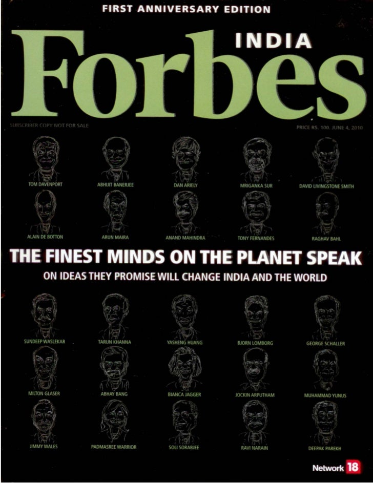 Aspiring Minds In Forbes India