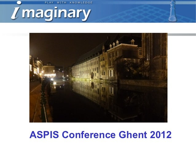 ASPIS Conference Ghent 2012