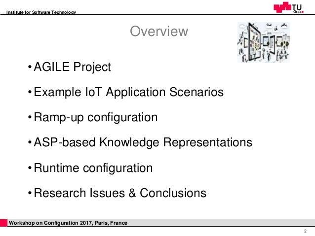ASP-based Knowledge Representations for  IoT Configuration Scenarios Slide 2