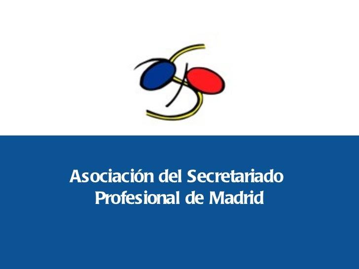Asociación del Secretariado  Profesional de Madrid