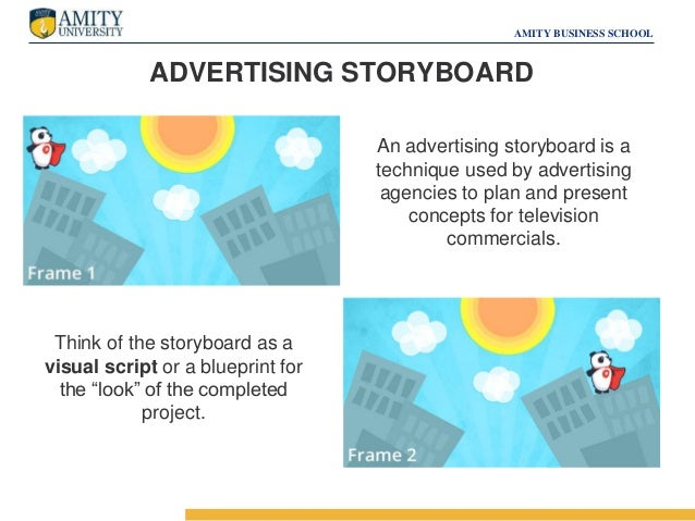 Copywriting & Storyboarding (Advertising & Sales Promotion)