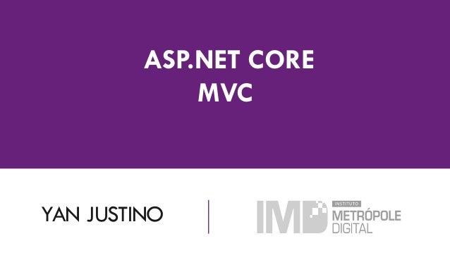 YAN JUSTINO ASP.NET CORE MVC