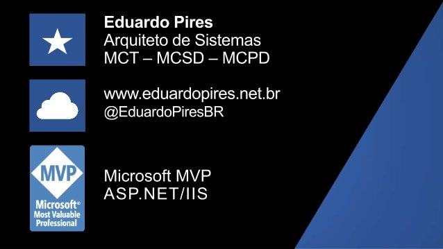 ASP.NET – Um pouco de sua história • Primeira versão em 2002 junto do .NET Framework 1.0 • Otimizado para programadores AS...