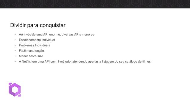 API Gateway Muitas APIs trazem grandes responsabilidades