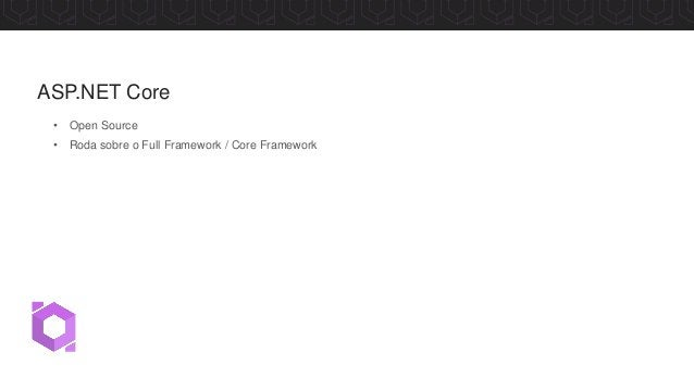 Commits no GitHub do ASP.NET Core