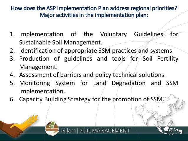 Pillar 1 soil management for Soil management
