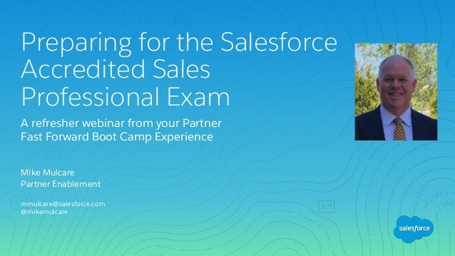 Salesforce Sales Professional Exam Prep