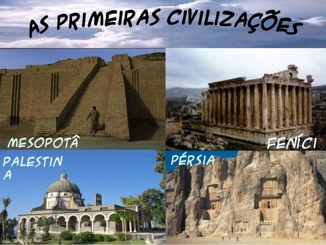 Mesopotâ mia Feníci aPalestin a Pérsia