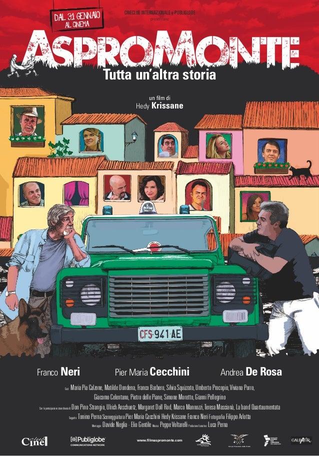 CINECLUB INTERNAZIONALE e PUBLIGLOBE                                                                     presentano       ...