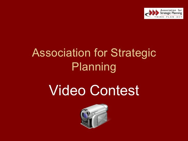 Association for Strategic Planning Video Contest