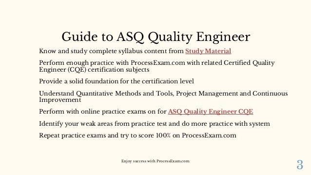 How to Boost Preparation on ASQ Certified Quality Engineer (CQE) Cert…