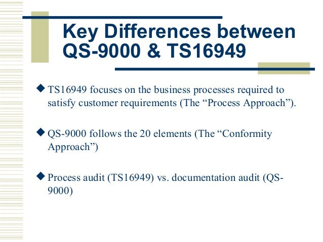 difference between iso 9000 and 9001