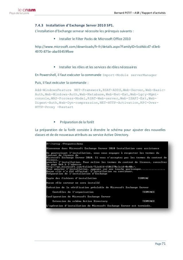 Asr - Office filter pack for exchange 2010 ...
