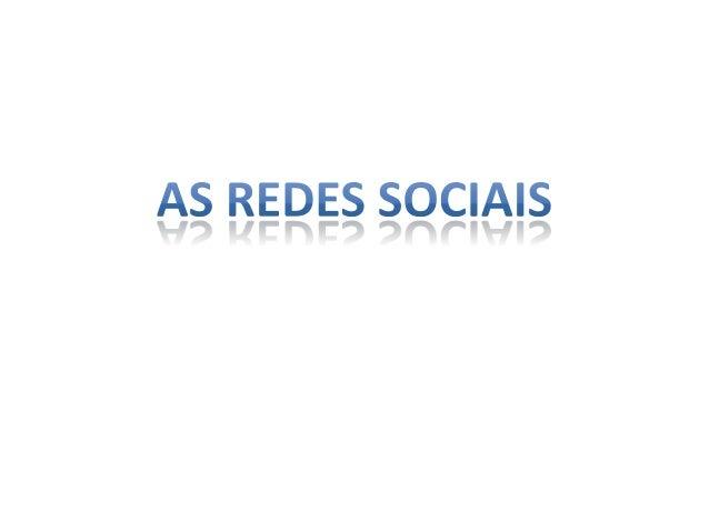 • Uma rede social é uma estrutura social, composta por pessoas ou organizações, ligadas por um ou vários tipos de relações...