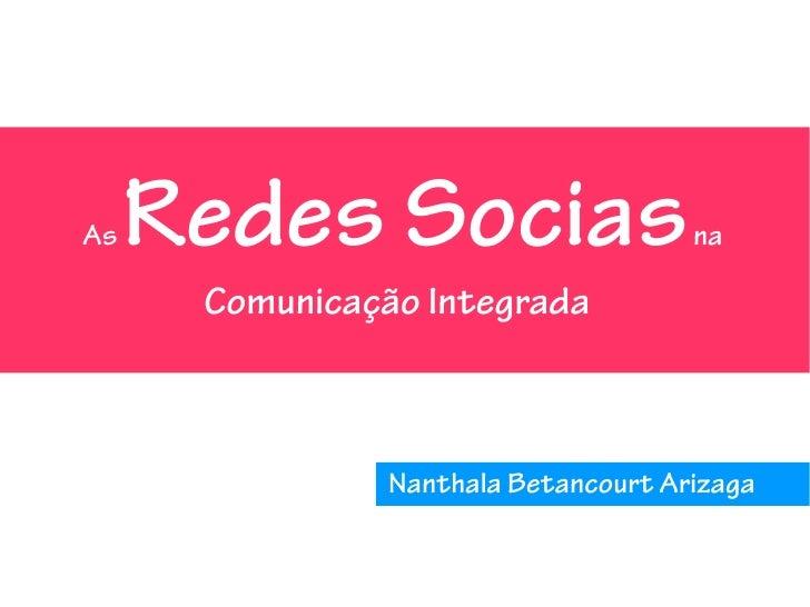 As Redes Sociais na Comunicação Integrada