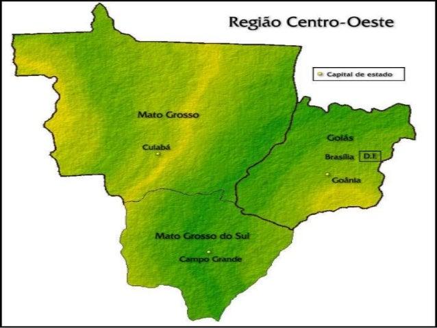 Região Centro-Oeste • a Região Centro-Oeste é um grande território, sendo a segunda maior região do Brasil em superfície t...