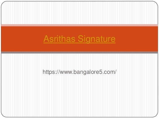 https://www.bangalore5.com/ Asrithas Signature