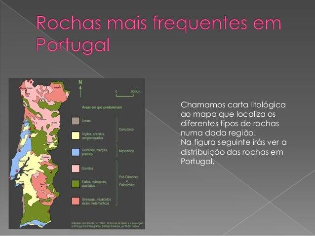 mapa de solos de portugal As rochas , o solo mapa de solos de portugal