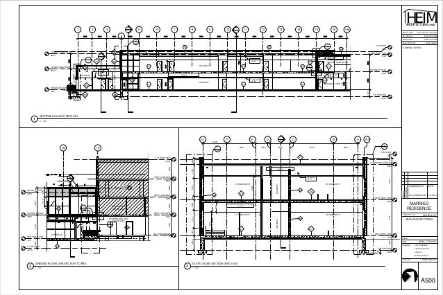 Architectural Drawings For The Addition To Algonquin College Residenc
