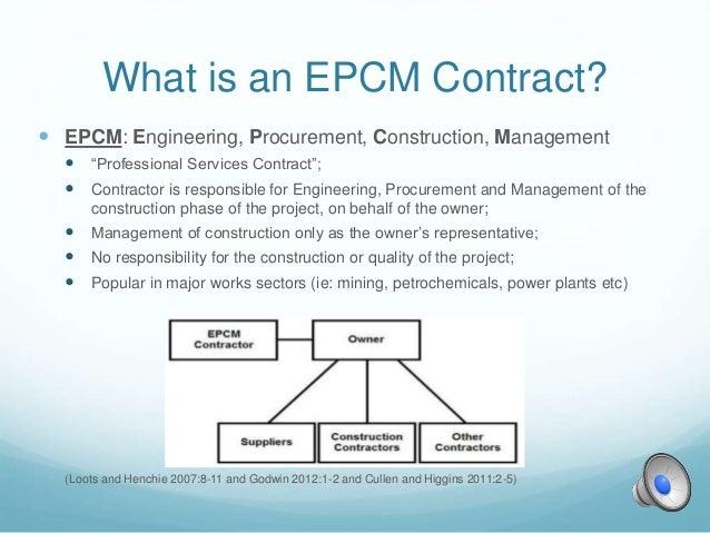 EPC v EPCM Contracting- A Comparison