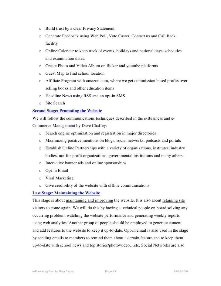 School Business Plan Template | Free Business Plan Software