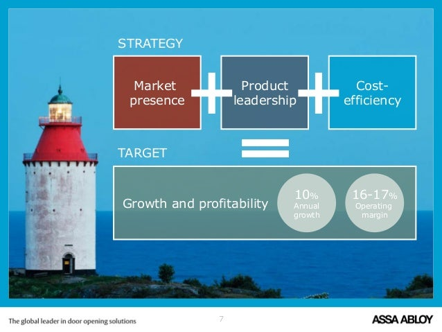 Assa Abloy Corporate Presentation 2015