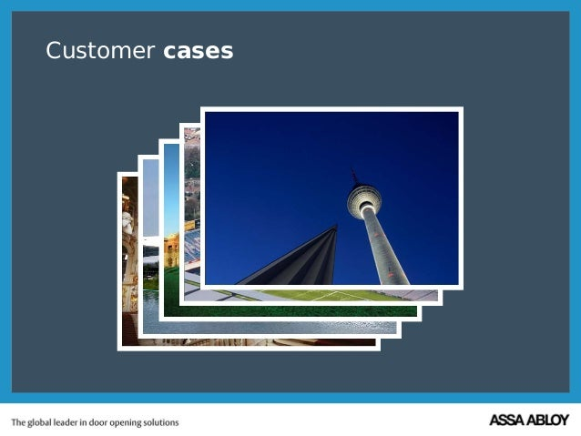 Customer cases
