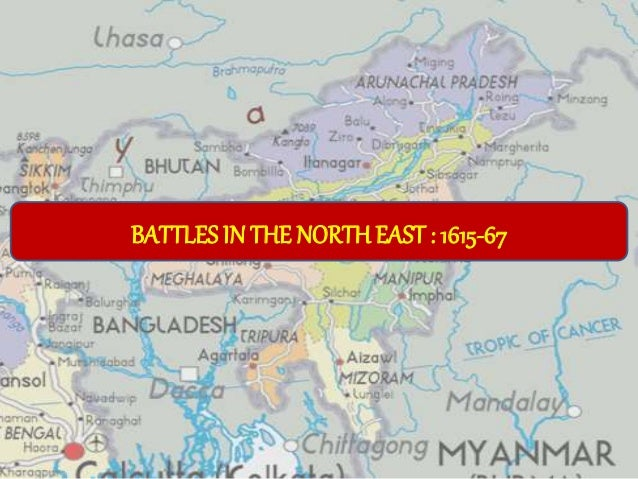 BATTLES IN THE NORTH EAST : 1615-67