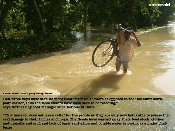 Assam flood in pictures