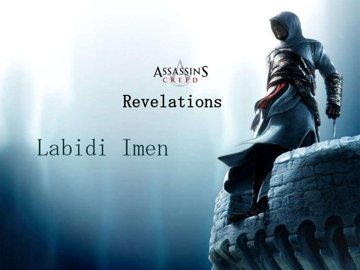 RevelationsLabidi Imen