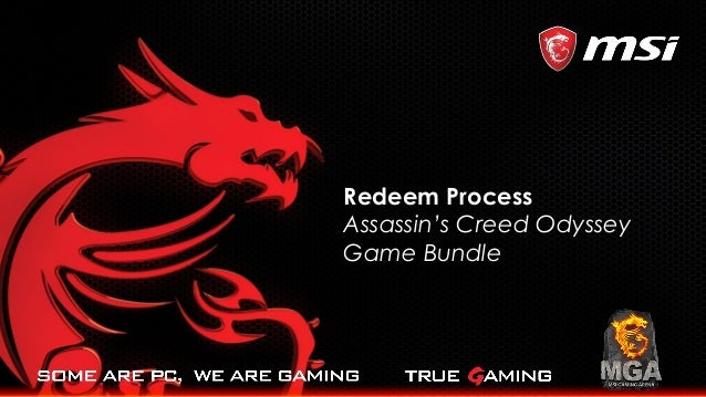 Redeem Process Assassin's Creed Odyssey Game Bundle