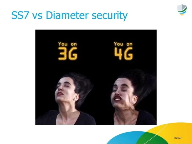 SS7 vs Diameter security Page 27