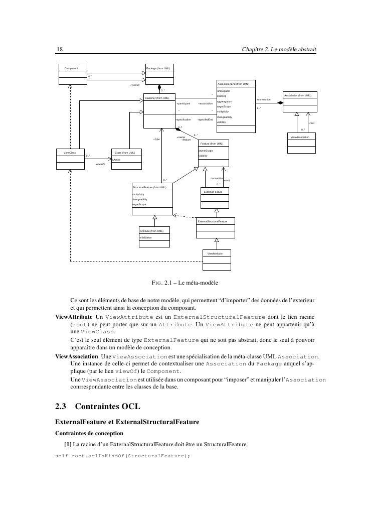 20                                                                   Chapitre 2. Le modèle abstrait   [10] Si deux ViewCla...