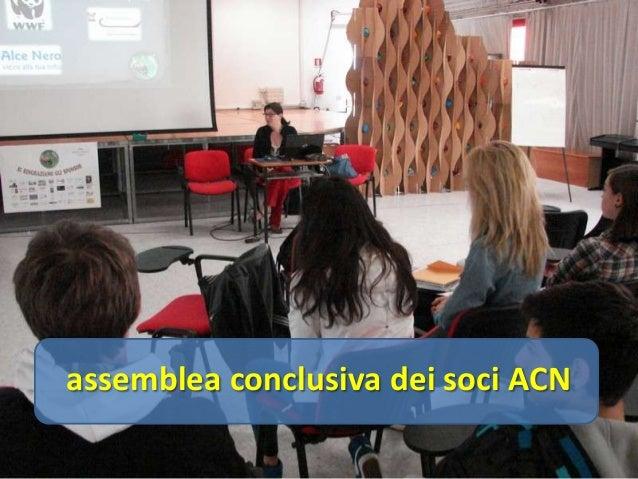 assemblea conclusiva dei soci ACN