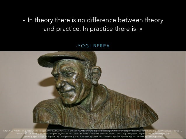 - Y O G I B E R R A «In theory there is no difference between theory and practice. In practice there is.» https://www.fl...