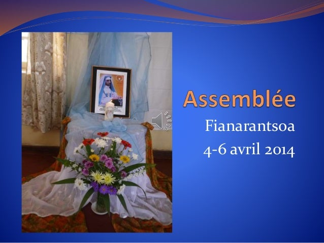 Fianarantsoa 4-6 avril 2014