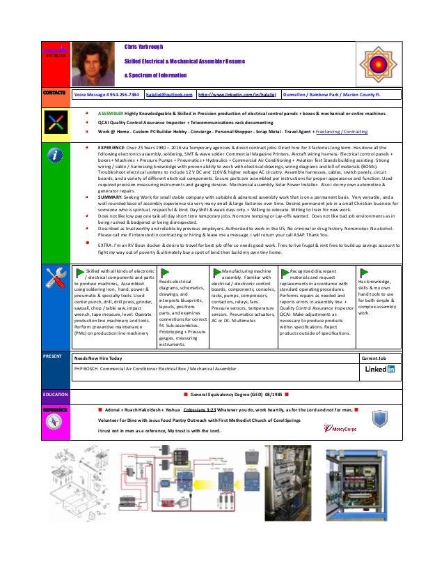Assembler Resume V5 2016