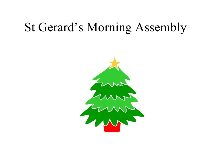 St Gerard's Morning Assembly