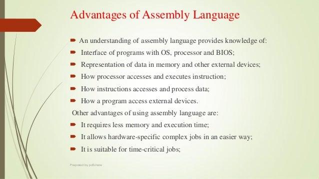 Assembly level language