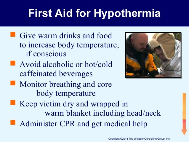 Cold Stress Hazards and Prevention