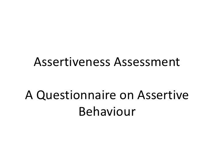 Assertiveness Techniques Slide 2