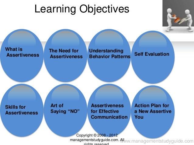 Assertiveness skills Slide 2
