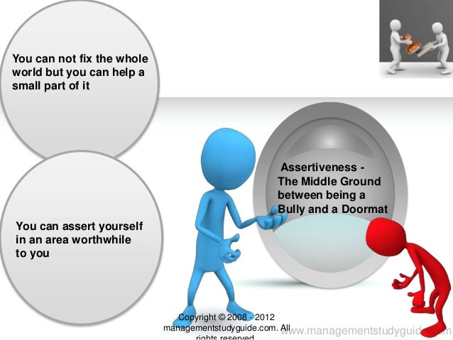 Assertiveness skills Slide 3