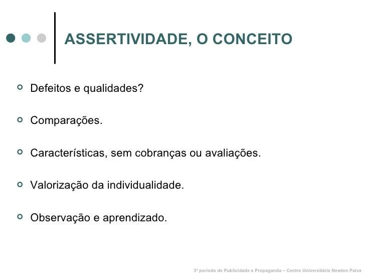 Assertividade Slide 2