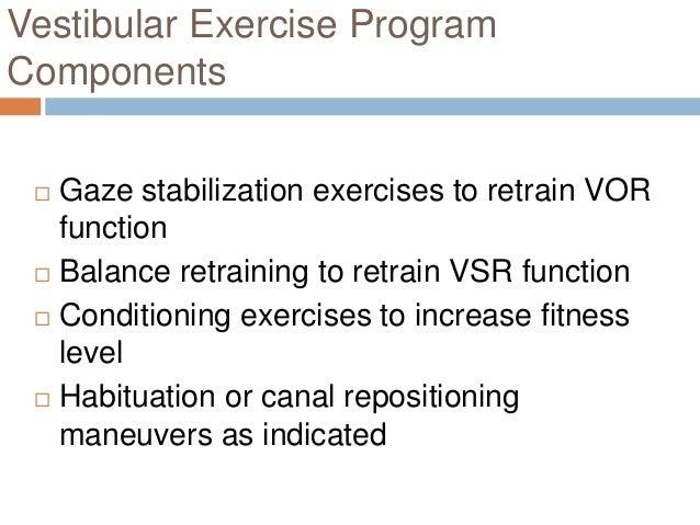 Assesment of vestibular function