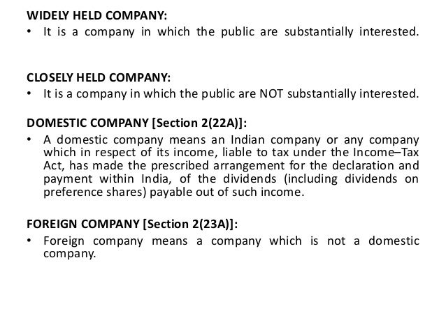 define closely held corporation