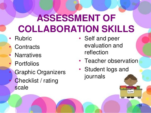 Collaborative Teaching Observation Form : Assessing st century skills