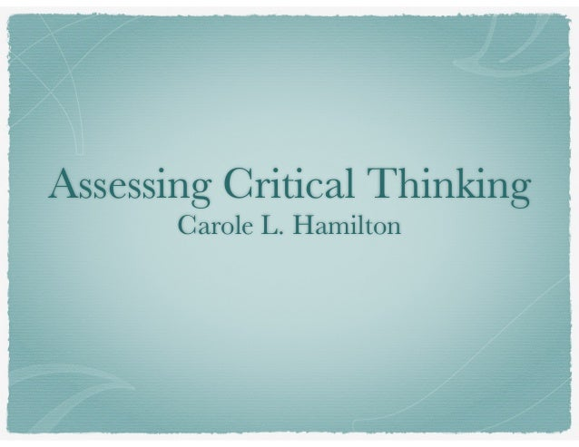 critical thinking video ted Critical thinking is the ability to take the information you have obtained through observation, reading, hearing and experiences and then evaluating it via analysis, questioning, understanding, synthesizing and rationalizing and therefore coming up with a model of well informed thought or idea about how.