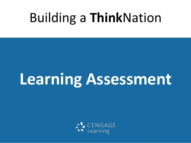 Building a ThinkNation  Learning Assessment